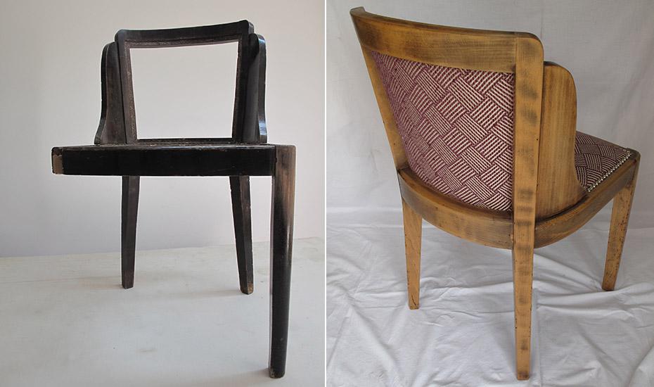 Chaise de bistrot années 30